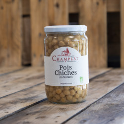 Pois chiches au naturel 450g