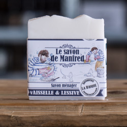 Le savon ménager de Manfred...
