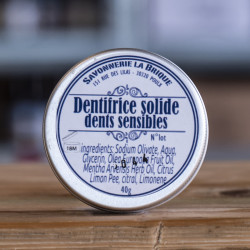 Dentifrice solide dents...