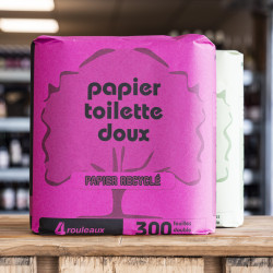 Lot de 4 rouleaux papier WC
